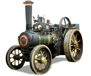 Burrell Traction Engine Model